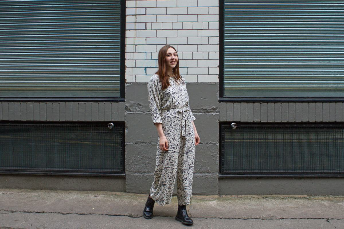 Noisy May - Abstract Marble Jumpsuit