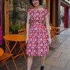 Run & Fly - Record Collector Dress in Orange