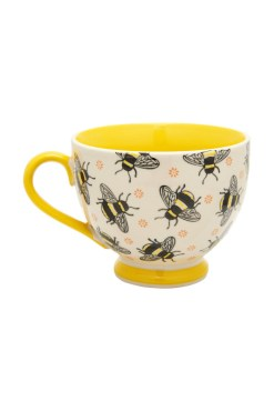 Sass & Belle - Busy Bees Stamped Mug
