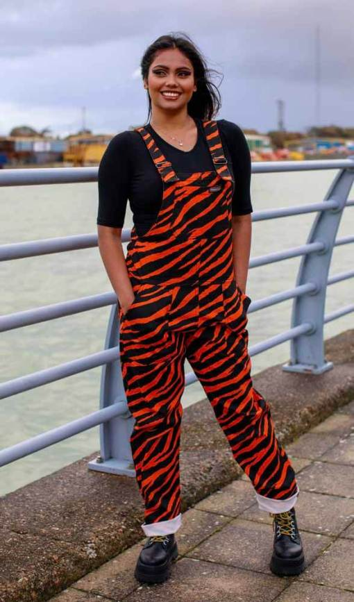 Run & Fly - Unisex Tiger Twill Dungarees