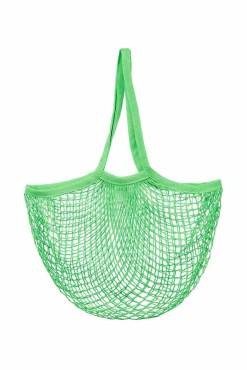 Sass & Belle - Leaf Green String Shopper Bag