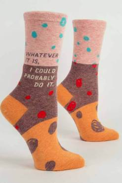 Blue Q - I Could Do It Socks