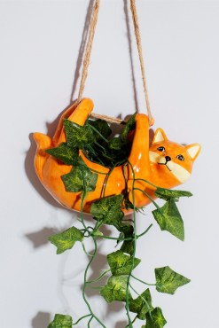 Sass & Belle - Fox Hanging Planter