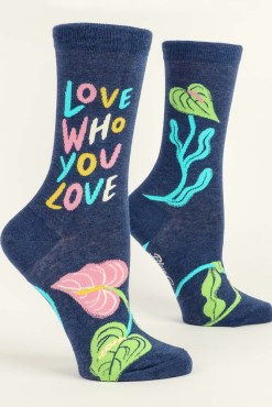 Blue Q - Love Who You Love Socks
