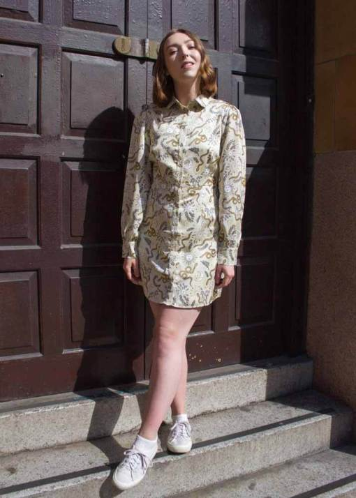 Glamorous - Stone Sun & Moon Shirt Dress