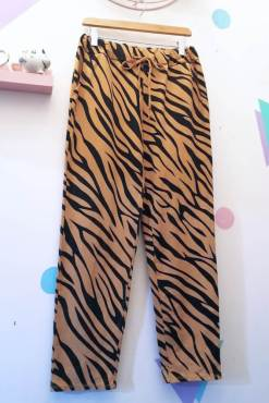 Thunder Egg - Brown Tiger Joggers