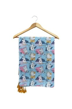House of Disaster - Abstract Moomin Scarf