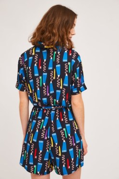 Compañia Fantastica - Toothbrush Print Playsuit