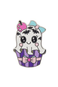 Erstwilder - With A Scary on Top Enamel Pin