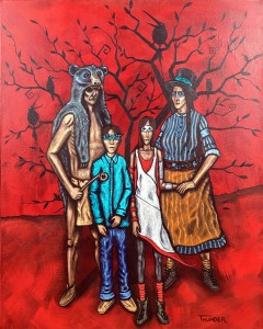 """Nuclear Descent of a People Called the Chippewa #2"":Sold"