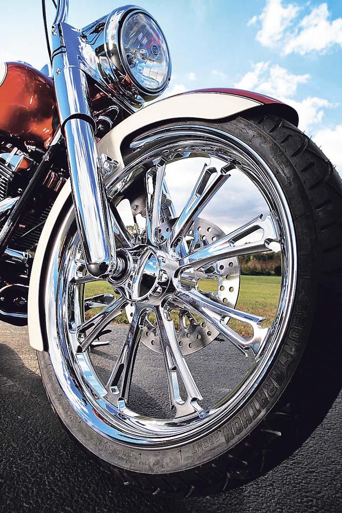 BAD ASS BITCH GREMLIN BIKER BELL KIT FOR HARLEY MOTORCYCLE