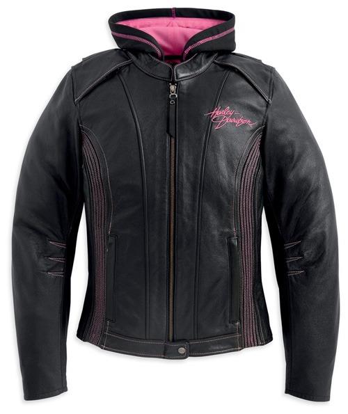 Harley-Davidson Pink Label 3-in-1 Leather Jacket