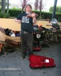 Chris Knoop earns airfare home