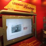Indian Motorcycle's racing heritage display garnered plenty of attention