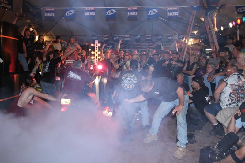 2013 Daytona Bike Week Rally Planner - Party Zones