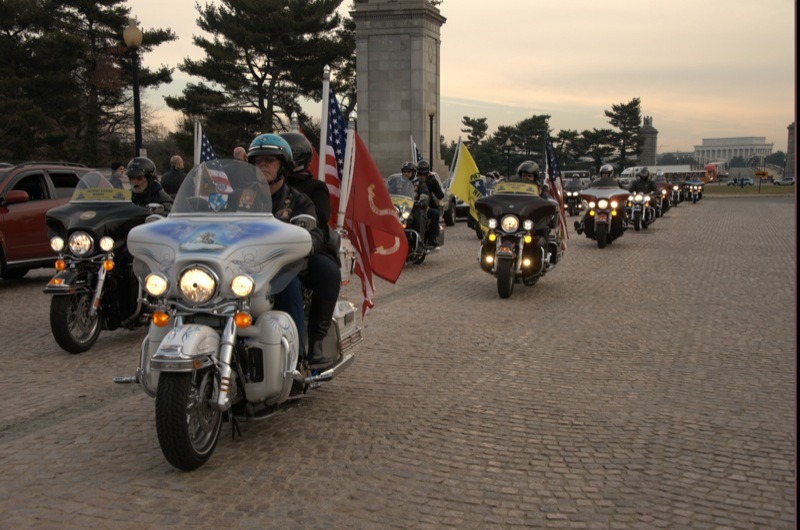 2012 Wreaths Across America Escort to Arlington