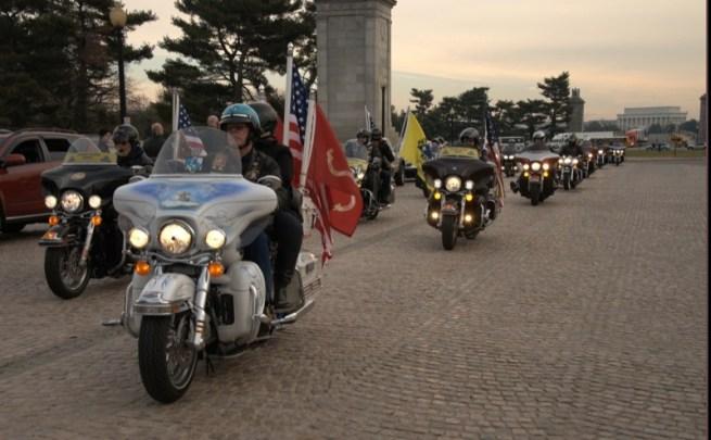 2012 Wreaths Across America Escort to Arlington
