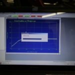 The ThunderMax software shows the fuel flow adjustment that takes place as the bike runs