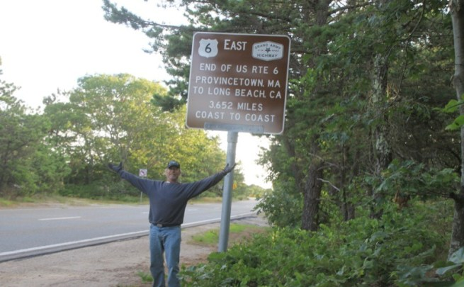 Route 6 Ride, Long Beach to Cape Cod