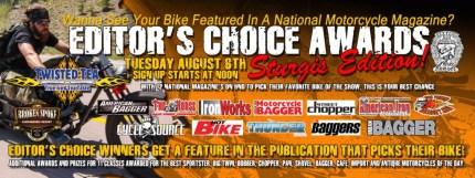 Editor's Choice Banner