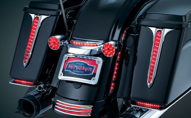 Küryakyn L.E.D. Rear Saddlebag Accents