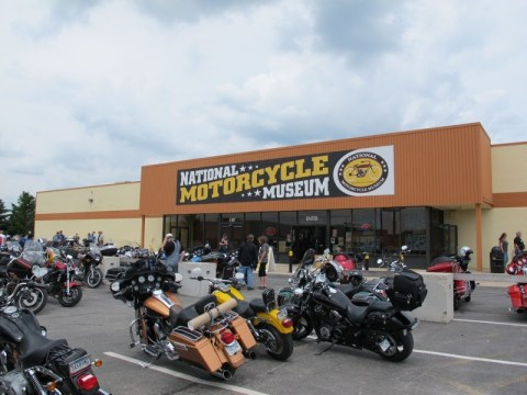 National Motorcycle Museum - Anamose, Iowa