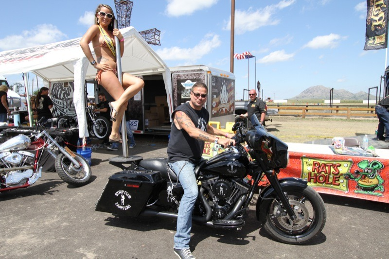 It's not a party until the stripper-pole bike comes out