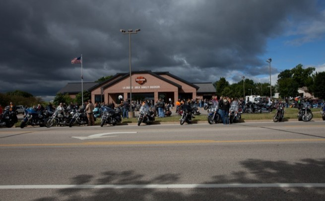 La Crosse Area Harley-Davidson was the starting point for the 11th annual Thunder Ride to Cure Diabetes