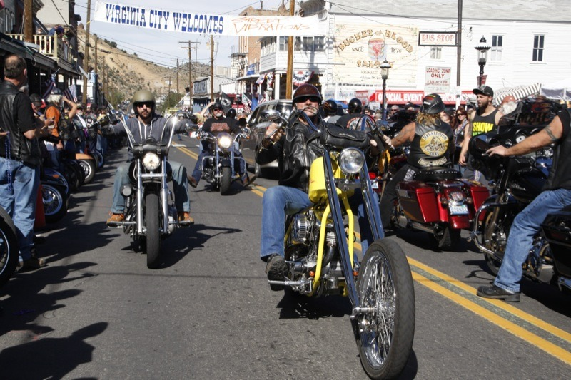 2013 Street Vibrations Fall Rally - Virginia City Cruisin'