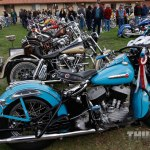 Not all bikes were chopped in David Mann's honor, like this slightly modified '48 UL