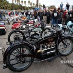 Leroy Yoder's 1926 Henderson Deluxe took top honors in the Antique class