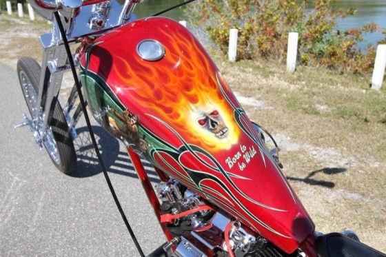 The colorful paint and graphics were designed and executed by John McCarthy of McCarthy Signs