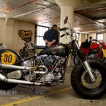 Ben Boyle of Benderworks from Atlanta, GA, brought this H-D FL, a mix of a 1960 motor and a 1955 frame