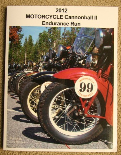2012 Motorcycle Cannonball Endurance Run, by Gary Haynes