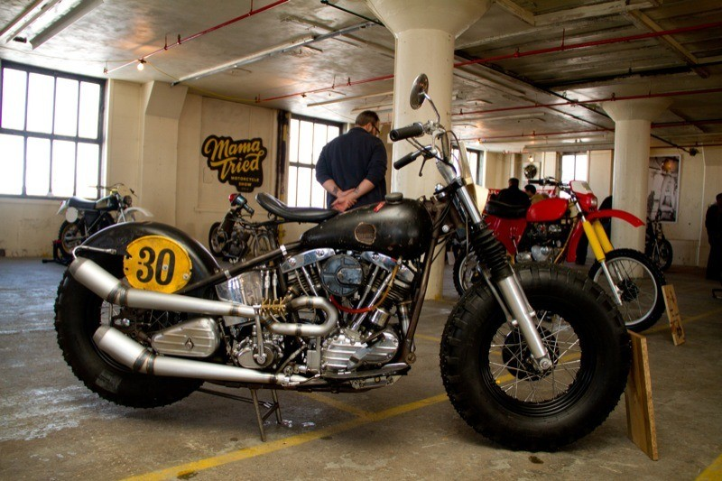 Ben Boyle of Benderworks from Atlanta GA brought this Harley Davidson FL