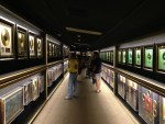 """The """"Hall of Gold"""" holds a collection of Elvis' Gold- and Platinum-selling records"""