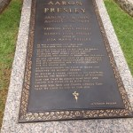 Elvis Aaron Presley's gravesite at Graceland