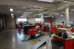 The revamped service department at STHD