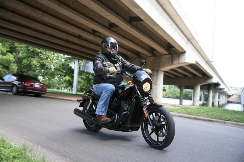 Developed for the urban rider, the Street is nimble and quick-handling