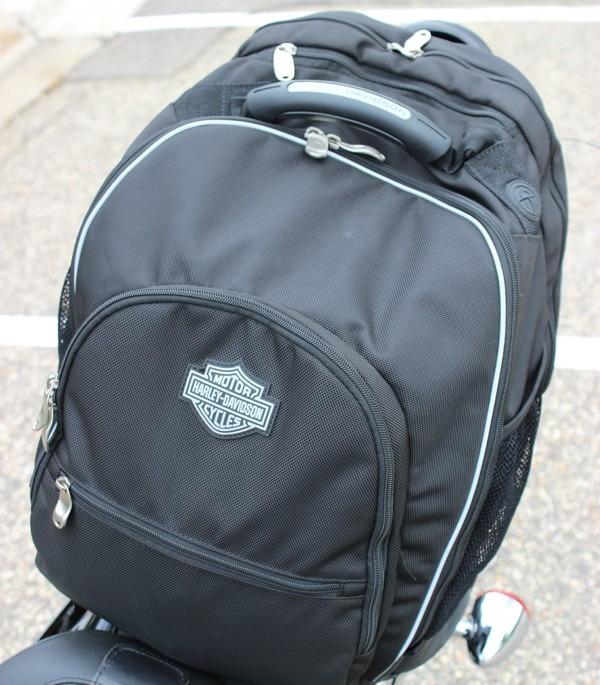 Harley-Davidson Premium Luggage Sissy Bar Backpack