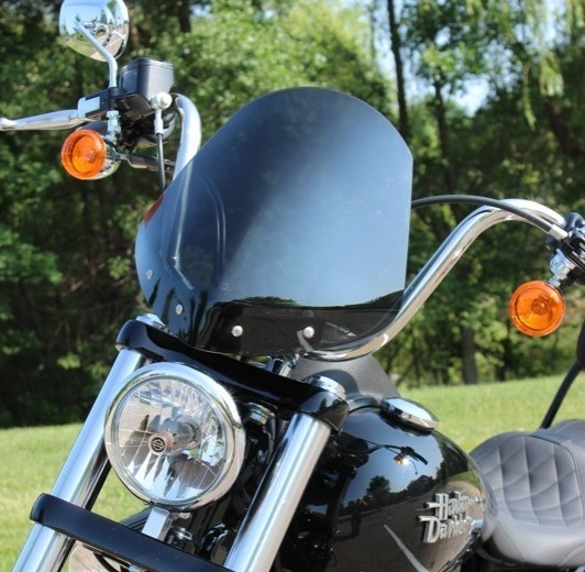 National Cycle Gladiator Windshield FXDB