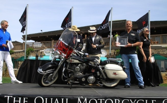 Kevin Goe took a first place in the American class with his 1959 Harley-Davidson FLH Panhead