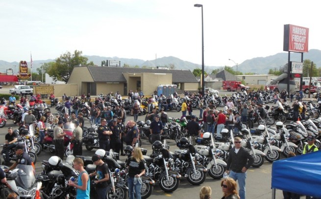 19th annual Utah Kids Ride at Wright's Motorcycle Parts