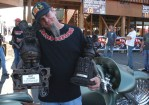 Brian Jenkins of Hatred Customs took first place Radical Bagger and Best of Show at Rat's Hole