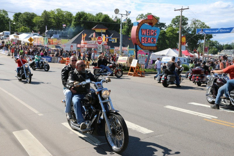 91st Laconia Motorcycle Week at The Weirs