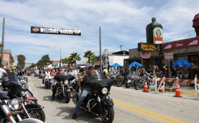 75th annual Daytona Bike Week: Picture-perfect party