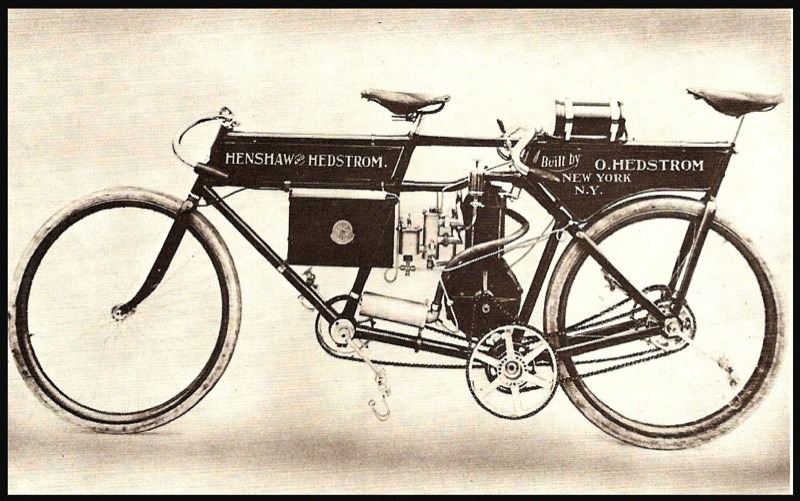 The Henshaw & Hedstrom Typhoon pacer of 1900