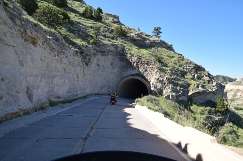 Road to top of Scotts Bluff National Monument
