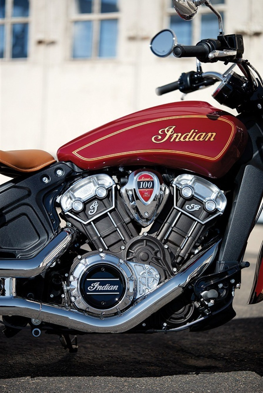 Indian Scout 100 Thunder Press