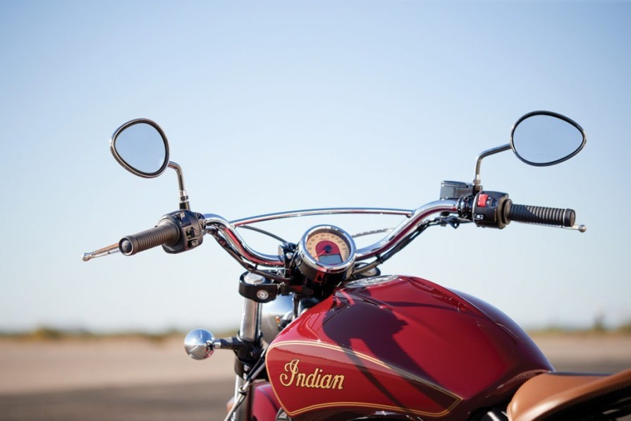 indian scout thunder press